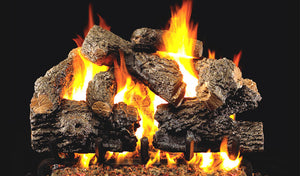 Real Fyre Charred Royal English Oak Vented Gas Logs