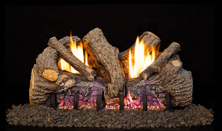 Real Fyre Foothill Oak Vent Free Gas Logs