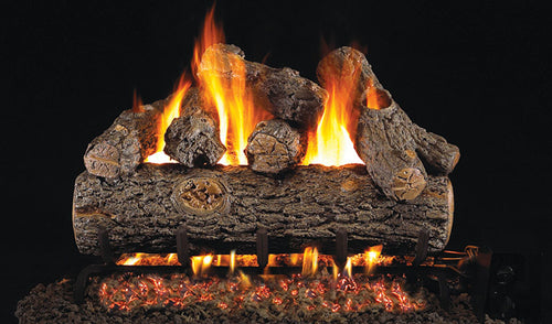 Real Fyre Golden Oak Designer Plus Vented Gas Logs