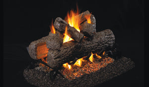 Real Fyre Golden Oak See-Thru Vented Gas Logs - R-2