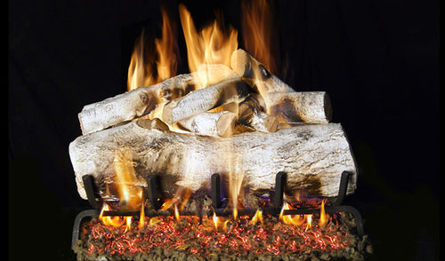 Real Fyre Mountain Birch Vented Gas Logs