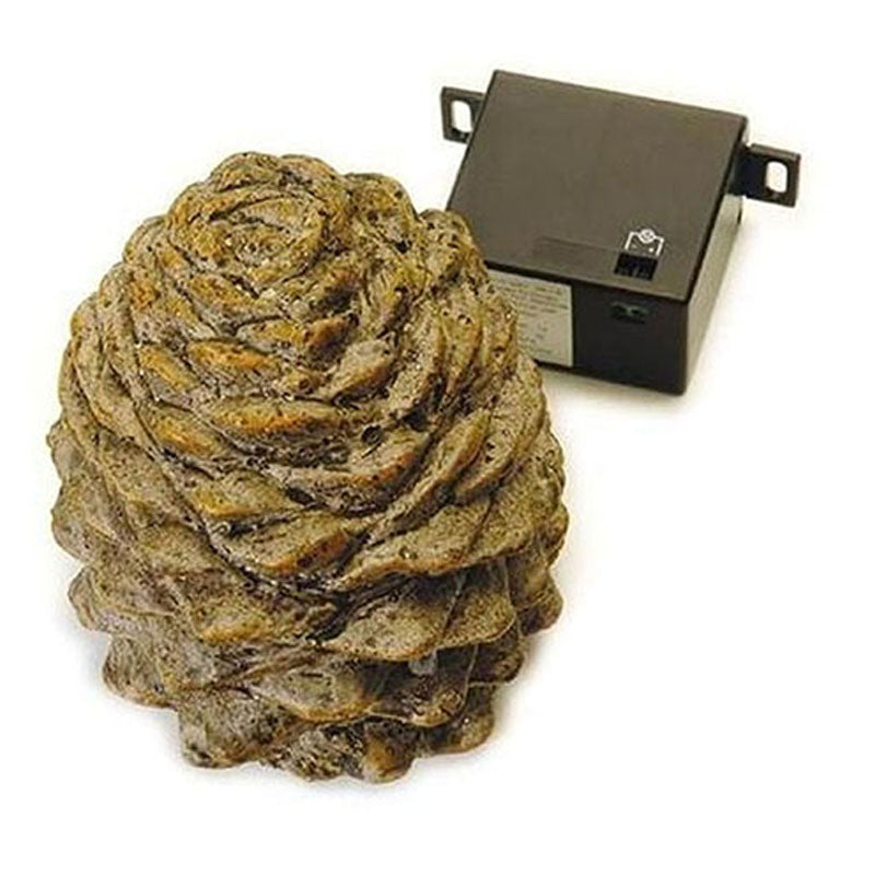 Real Fyre Pine Cone Decorative Cover
