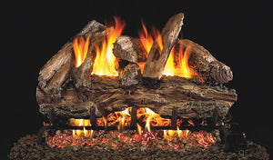 Real Fyre Red Oak Vented Gas Logs