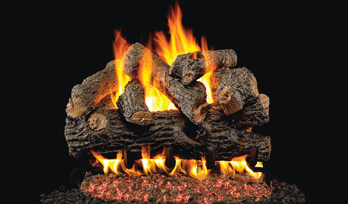 Real Fyre Royal English Oak Designer Vented Gas Logs
