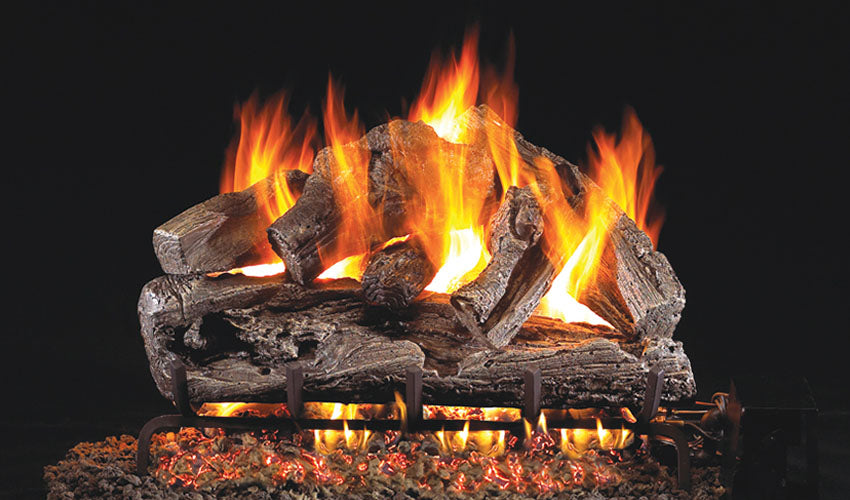 Real Fyre Rugged Oak Vented Gas Logs