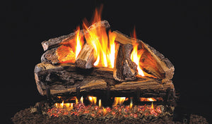 Real Fyre Rugged Split Oak Vented Gas Logs