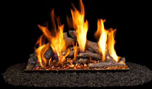 Real Fyre Shoreline Oak Vented Gas Logs