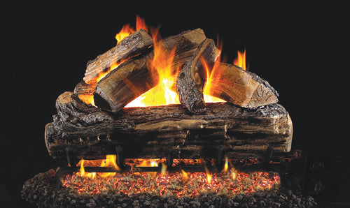 Real Fyre Split Oak Designer Vented Gas Logs