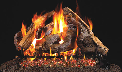Real Fyre Woodstack Vented Gas Logs