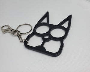 Cat-shaped Keychain