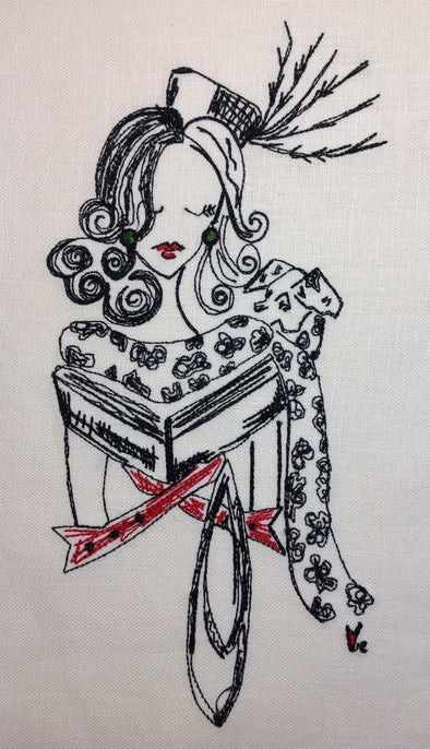 the Cruella Bookworm - She is an Evil Beauty
