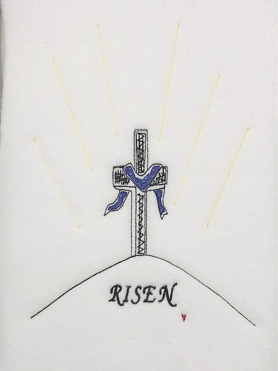 Easter Cross - RISEN