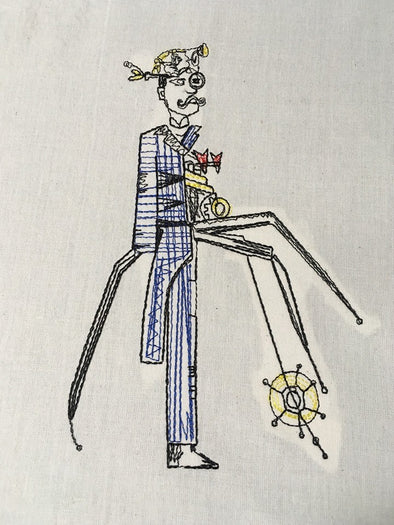 Automaton – Steampunk Andy Embroidery Design