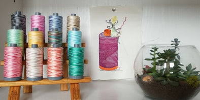 Nicola Elliott and the Aurifil Thread Fairy
