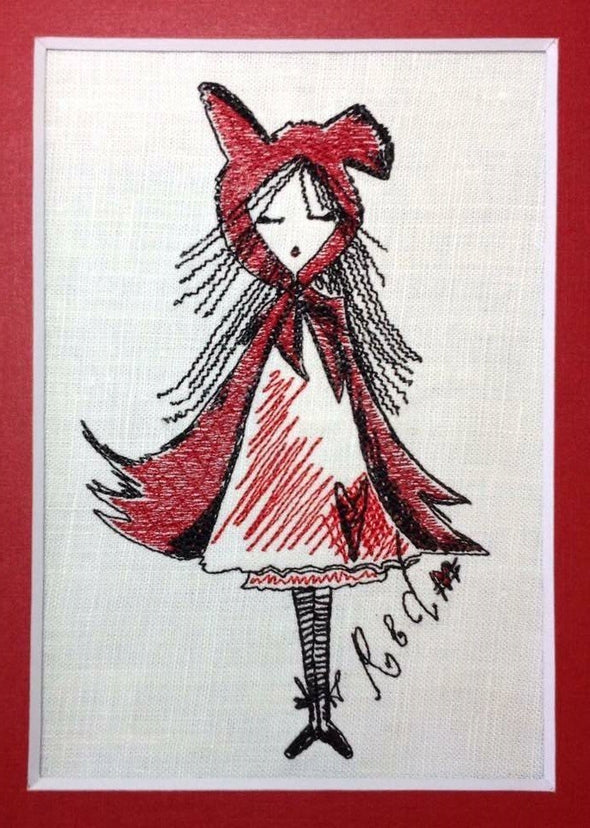 Red Riding Hood - Embroidery Design