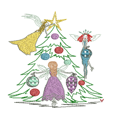 Christmas Tree Fairies