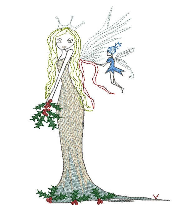 Christmas Angel- 2018 Design