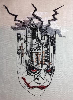 Urban Embroidery Designs, Joker Town