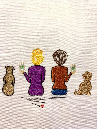 Mix and Match Woman Machine embroidery designs