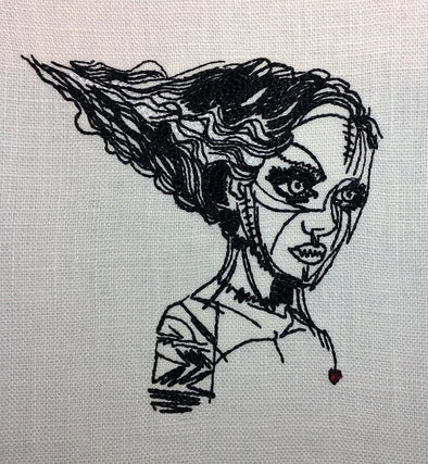 Urban Embroidery Designs Mrs Frankenstein