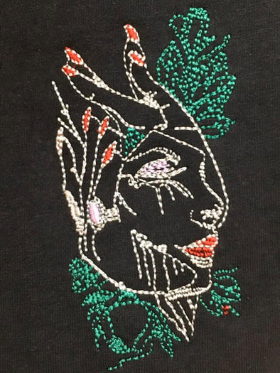 Machine embroidery design A Gentla Touch