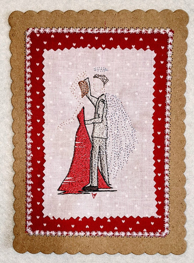 Forever Mine Collection - Valentine Dancing Angel husband, brother, Dad