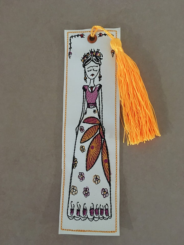 Mexican Female Artist inspired ITH Bookmark