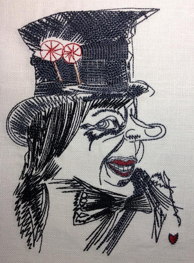 Urban Embroidery Designs, The Child Catcher, Chitty Chitty Bang Bang
