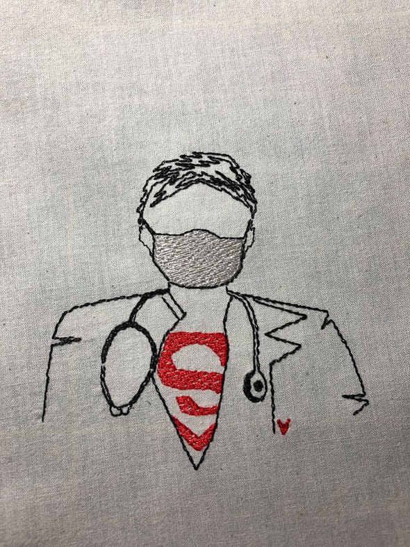 Our Super hero Male Nurse Doctor