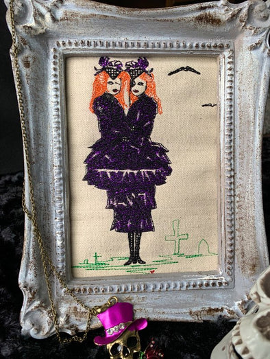 Urban Embroidery Designs Evil Twins