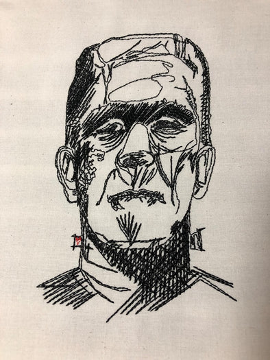 Urban Embroidery Designs Frankenstein