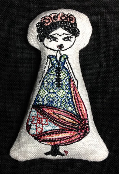 Mexican Female Artist inspired ITH Doll