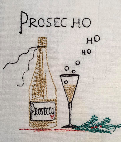 Machine Embroidery design Prosec Ho Ho Ho