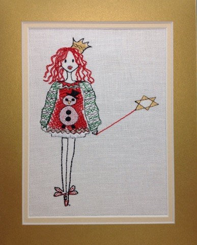 Christmas Jumper Fairy - Embroidery Design