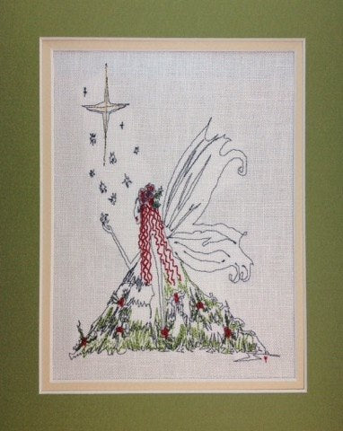 Christmas Fairy Star - Embroidery Design