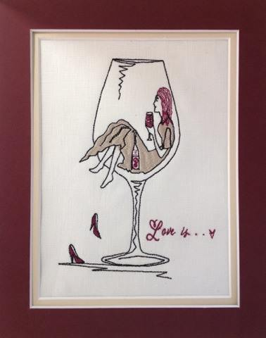 Love is...Wine