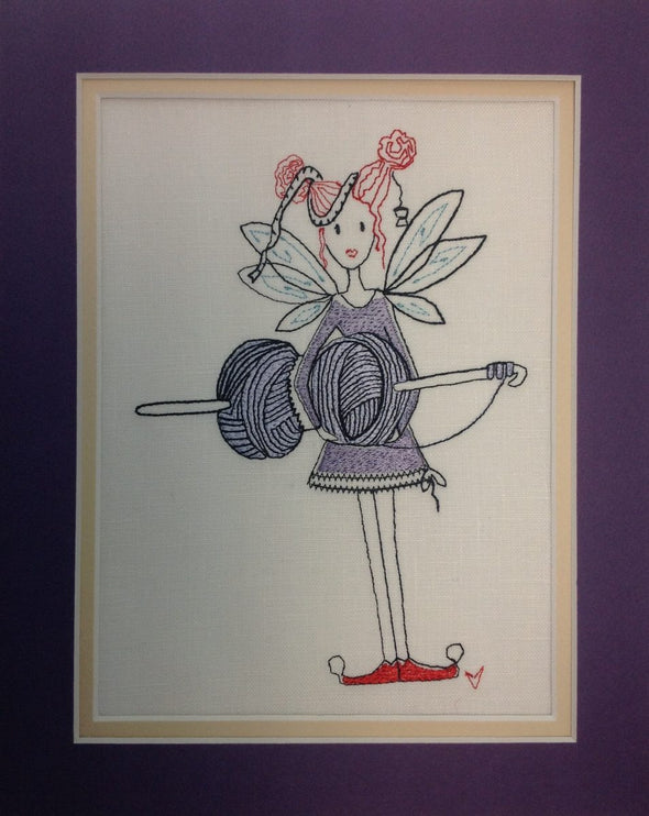 Crochet Fairy Cindy - Embroidery Design