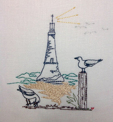 Seagulls - Embroidery Design