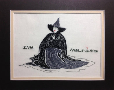 Wizard of Oz - I'm Melting Witch - Embroidery Design