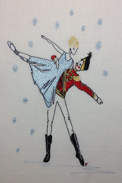 Nutcracker Ballet - Embroidery Design