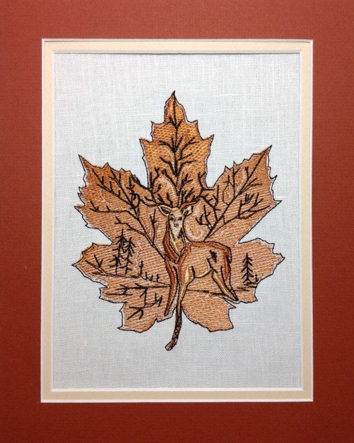 Autumn Deer - Embroidery Design