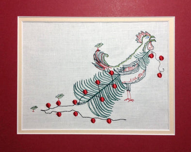 Chicken Christmas Tree - Embroidery Design