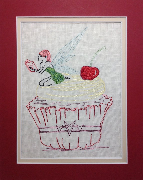 Cupcake Pixie - Embroidery Design
