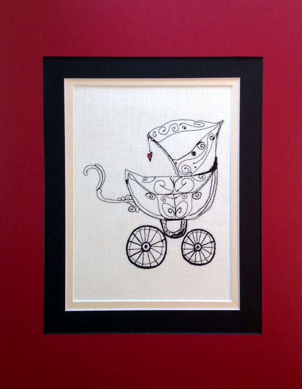 Baby Buggy - Embroidery Design