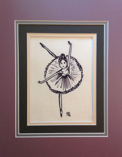 Ballerina Dance - Embroidery Design