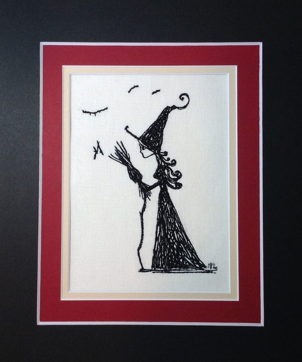 Wizard of Oz Collection - Wicked Witch - Embroidery Design