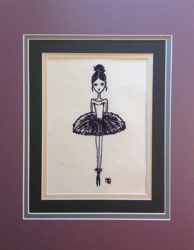 Ballerina Princess - Embroidery Design