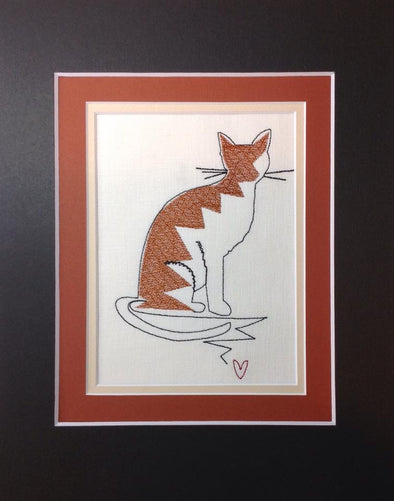 Forever Mine Collection - Cat - Embroidery Design