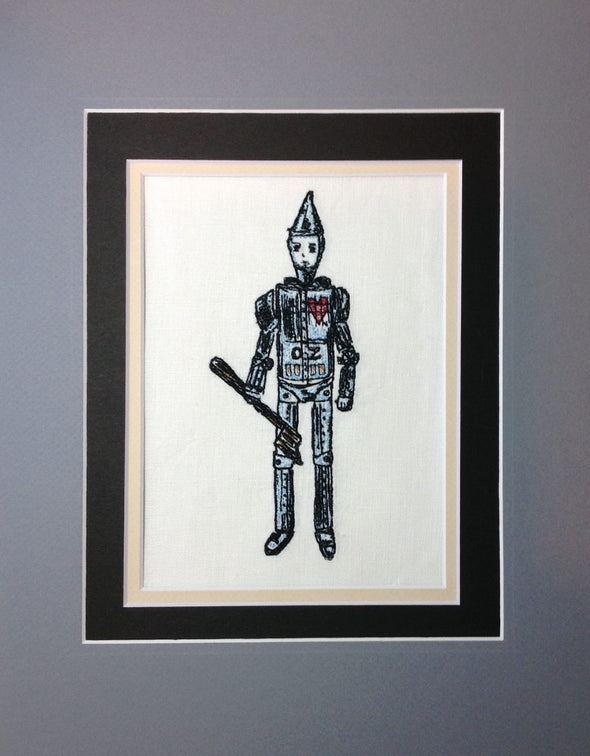 Wizard of Oz Collection - Tin Man - Embroidery Design