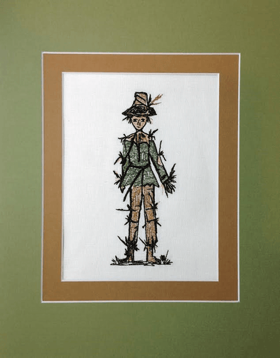 Wizard of Oz Collection - Scarecrow - Embroidery Design